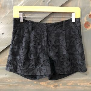 Diane Von Furstenberg Lace Shorts Size 0